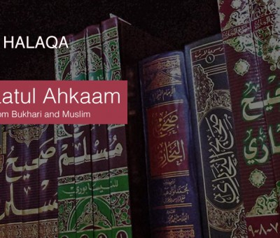 Saturday Halaqa